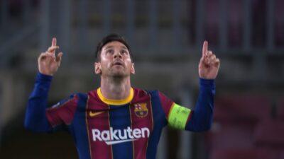 UCL-Group-G-1 Barcelona 5 vs 1 Ferencvarosi 20-10-2020