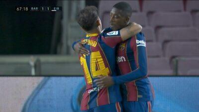 Matchday 16 : Barcelona 1 vs 1 Eibar 29-12-2020