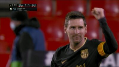 LFP-Week-18 Granada 0 vs 4 Barcelona 09-01-2021