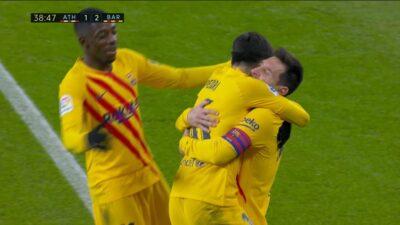 Matchday 2 : Athletic Bilbao 2 vs 3 Barcelona 06-01-2021